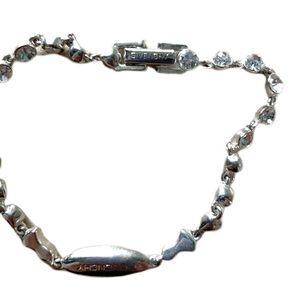 Givenchy Jewelry - 💥3/$15💥 Givenchy crystal rhinestone bracelet